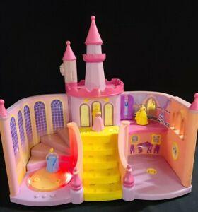 Disney Princess Interactive Enchanted Castle Cinderella Belle Sleeping Beauty