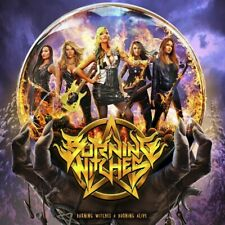 Burning Witches - Debüt+ Burning Alive Jewel Case CD NEU/OVP