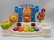 Dancing Monkey Piano Keyboard microphone singing Toy, pre-school