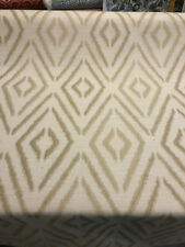 Torsby Ikat Champagne Gold Jacquard Fabric by the yard