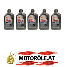 5x1 Liter Shell Helix Ultra Racing 10W-60 Motoröl, ACEA A3/B3/B4 - API SN/CF