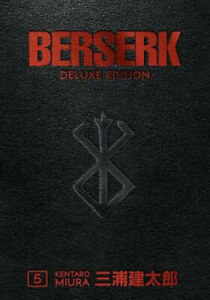 NEW Berserk: Deluxe Edition, Vol. 5  By Kentaro Miura Hardcover Free Shipping