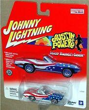1965 CORVETTE CONVERTIBLE, Felicity Shagwell, Johnny Lightning 1:64 New on Card!