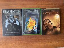 Frankenstein Legacy 4DVD-new/sealed,Ab&Cost MeetFR,  & Wolfman-2DVD, see pix!
