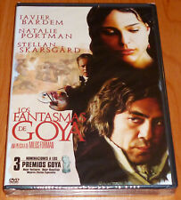 LOS FANTASMAS DE GOYA / GOYA´S GHOSTS English Español DVD R2 Precintada
