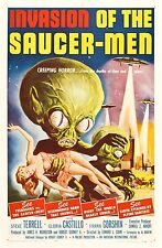 Invasion of the Saucer Men (1957) B Sci-Fi Classic
