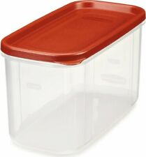 Rubbermaid 1776471 Dry Food Storage, 10 Cup, Clear Base