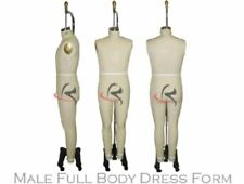 Professional Male Full Body Dress Form (Arm Included) - Size 36