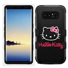 for Samsung Galaxy Note 8 Rugged Hard+Rubber Hybrid Case Hello Kitty #BW