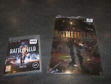 JEU PS3 BATTLEFIELD 3 + GOODIES PLAQUE METAL DECO 20X30 COMPLET EA OCCASION