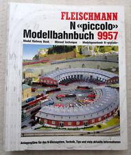 Fleischmann piccolo 9957 Modellbahnbuch Spur N Gleispläne Ratgeber 1994