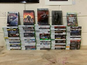 114 x Xbox 360 Games - Halo Gears of War Forza Fifa GTA Mass Effect Batman