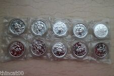 One Sheet of China 1996 1 Oz Silver Panda Coins - Small Date(From Shanghai Mint)