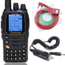 Wouxun KG-UV2Q 8W 7 bands/Air Band Cross Band Repeater Two Way Radio &USB Cable