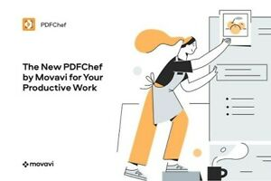Movavi PDFChef 21.0.1✔️ for windows ✔️Lifetime activated ✔️