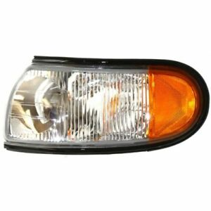 New NI2520122 Driver Side Corner Light for Nissan Quest 1996-1998