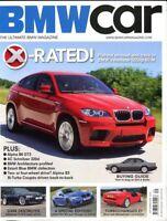 BMW Car magazine Sept 09 X6M E24 6 series buying Z3 M Coup Z1 Turbo ++