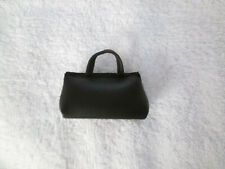 Byers Choice Authentic Accessory, Black Faux Leather Medical Bag, Euc