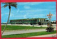 ST PETERSBURG FL FLORIDA SEA ROCKET APARTMENT MOTEL OLD CARS  POSTCARD