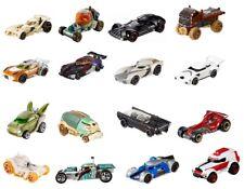 Set de 5 HOT WHEELS COCHES Star Wars Character Cars Auto Figuras Colección NUEVO