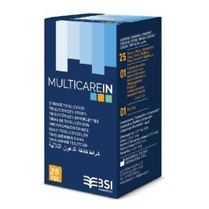 Multicare-In Triglycerides Electrode Test Strips (25 pk)