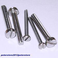 Zylinderschrauben mit Schlitz DIN 84 Edelstahl V2A Zylinderkopf  M1,6 - M6