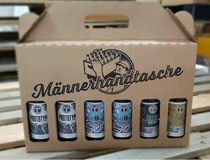 Kehrwieder Männerhandtasche - Geschenk - Hamburg Craftbeer Genuss Bier - Paket