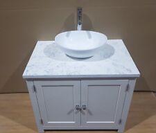 Bathroom Vanity Unit  800m wide Wash Stand Granite Top Cabinet & White Basin inc