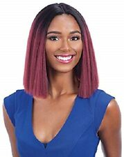 Freetress Equal Invisible Part Full Short  Straight Hair Wig - Justy