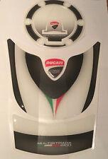 Motorcycle Tank Pad Protector Sticker | Ducati Multistrada 1200 Set