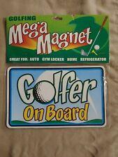"New listing *BRAND NEW* - ""Golfer On Board"" - Large Car Magnet - Golf ~"