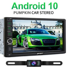 Camera+7 Inch Android 10.0 Car Stereo Double DIN 32GB GPS Bluetooth Headunit FM