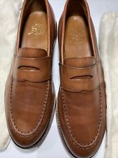 Ludlow J. Crew Men's Penny Loafers English tan Leather - Size 9
