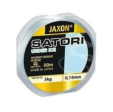Angelschnur JAXON SATORI UNDER ICE 50M Spule Winter Schnur Monofil NEU&OVP