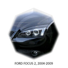 Ford Focus II Eyebrows Eyelids 2005-2008 MK2 Unpainted 2 pcs
