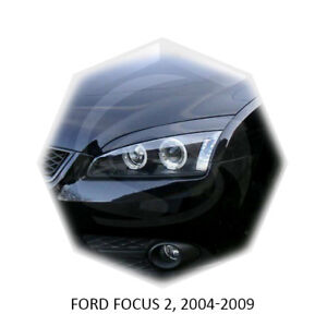 For Ford Focus II Eyebrows Eyelids 2005-2008 MK2 Set 2 pcs 3M Double Tape
