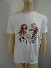 tee shirt à manches courtes SO DANCA Tap-dance , blanc en M
