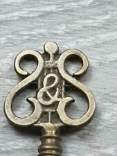 Antique Brass Detailed STEINWAY & SONS Grand Piano Lock Key