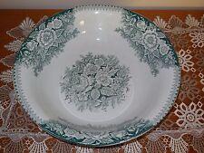 RARE VINTAGE French  Porcelain BASIN - early 1900 signed AL&MB ST AMAND - BOWL
