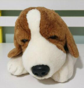 Korimco Beagle Puppy Pup JACK Plush Soft Toy Collar And Name Tag 35CM LONG