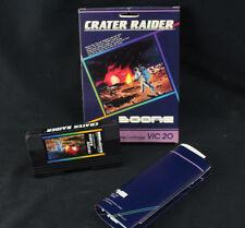 Crater Raider Commodore VIC-20 1983 Boone CIB Complete - So Rare - Few Exist!