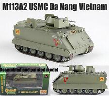 US M113 A2 Armored carrier tank USMC Da Nang Vietnam 1:72 no diecast Easy Model
