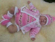 PRINTED PAPER KNITTING PATTERN TO MAKE ***JIG A JIG*** FOR BABY OR REBORN DOLLS