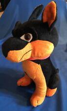 "Classic Toy Co. Large 19"" Rottweiler Doberman Stuffed Animal Puppy Dog Plush EUC"