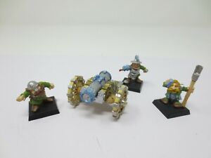 Warhammer Citadel Dwarf Cannon And Crew Metal oop Well Painted G269