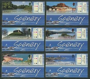 GB-Jersey 2007 Scenic Attractions set Sc# 1288-93 NH