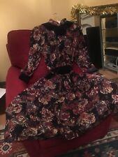 Vintage 1980 70s ORIGIN Liberty Wool Dress