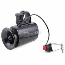 Hot 6 Kind of Sounds Black Loud Bike Bicycle Horn Electronic Bell Siren Alarm CA