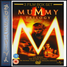 THE MUMMY TRILOGY - 3 FILM COLLECTION ***BRAND NEW DVD ****