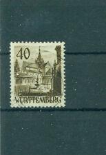 Gestempelte Briefmarken aus der französischen Zone (ab 1945) mit BPP-Signatur